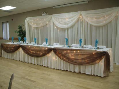 Wedding Backdrop & Headtable pkg
