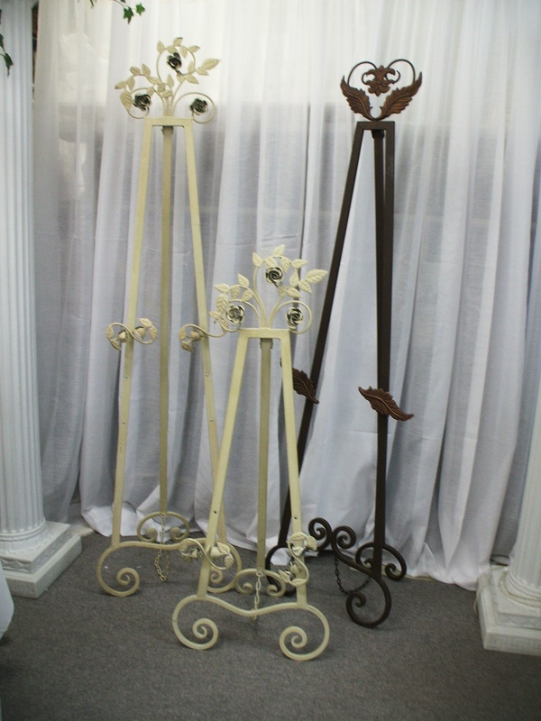 Rental Centerpieces Easels Table Numbers Mirrors And