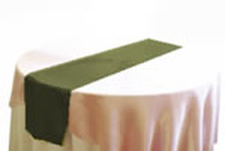 Satin Table Runner Rental